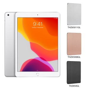 [BUNDLE PACK] Apple iPad 10.2 (WiFi + Cellular, Silver) + Targus Click-In Case With Pencil Holder