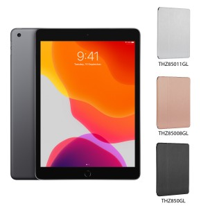 [BUNDLE PACK] Apple iPad 10.2 (WiFi + Cellular, Space Grey) + Targus Click-In Case With Pencil Holder