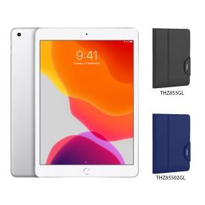 [BUNDLE PACK] Apple iPad 10.2 (WiFi + Cellular, Silver) + Targus VersaVu® Classic Case With Pencil Holder