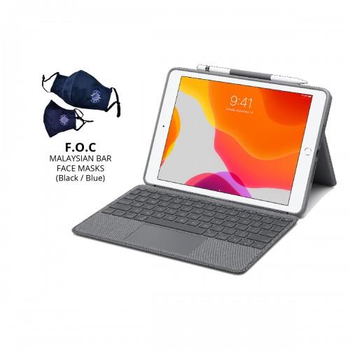 [BAR] Logitech Combo Touch for iPad 10.2 (7th Gen.) (920-009726)
