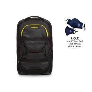 "[BAR] Targus 15.6"" Stamina Fitness Backpack (Black/Yellow)"