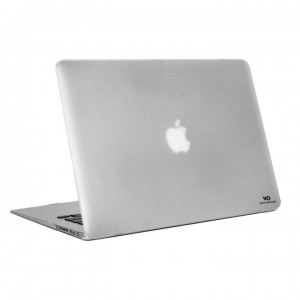 "Black Rock Protective Cover for Macbook Air 13"" (2018) - Frosted Transparent (3029MAC34)"