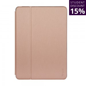 [EDUCATION] Targus Click-In Case for iPad 10.2 inch (7th & 8th gen.), iPad Air 10.5-inch, and iPad Pro 10.5-inch - Rose Gold
