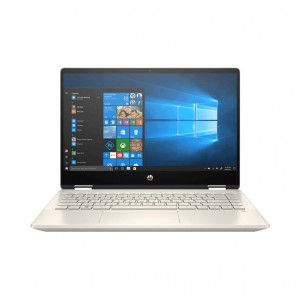 "HP Pavilion x360 - 14-dh1012tx 14"" Convertible FHD IPS Laptop Gold (i7-10510U, 4GB, 512GB, MX250 2GB, W10) FREE BACKPACK"