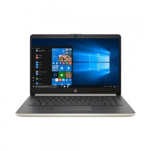 "HP 14"" FHD IPS 14s-cf2002tx Notebook - Pale Gold (i5-10210U , 4GB, 512GB, Radeon 530 2GB, W10) FREE BACKPACK"