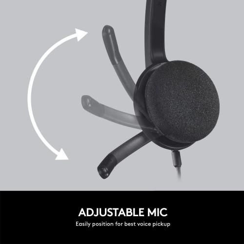 Logitech H340 USB COMPUTER HEADSET with Digital Audio