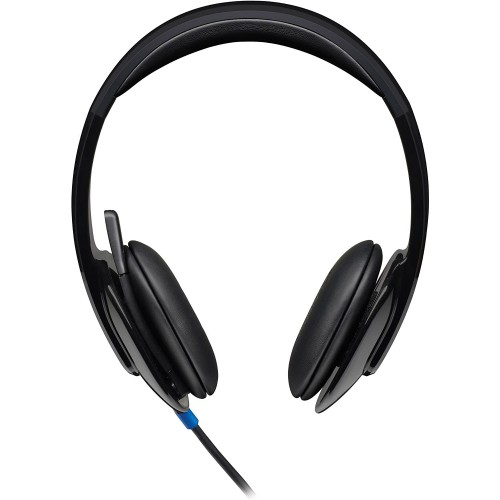 Logitech H540 USB COMPUTER HEADSET with High-Definition sound and On-Ear Controls