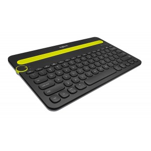 Logitech Bluetooth Multi-Device Keyboard K480 (Black)
