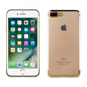 Muvit Case Crystal Edition for Apple iPhone 7 / 8 Plus (Gold)