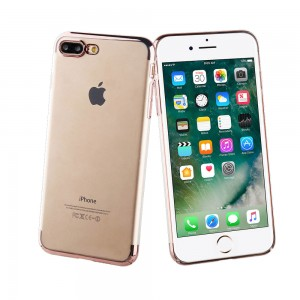 Muvit Case Crystal Edition for Apple iPhone 7 / 8 Plus (Pink Gold)