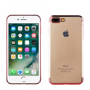 Muvit Case Crystal Edition for Apple iPhone 7 / 8 Plus (Red)