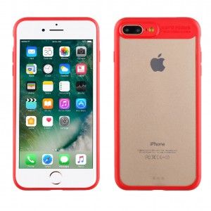 Muvit Case Crystal Bump Edition for Apple iPhone 7 / 8 Plus (Red)
