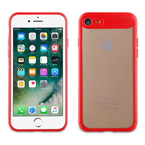 Muvit Case Crystal Bump Edition for Apple iPhone 7 / 8 (Red)