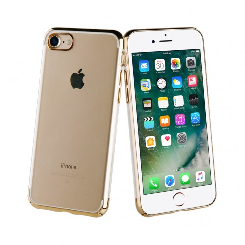 Muvit Case Crystal Edition for Apple iPhone 7 / 8 (Gold)