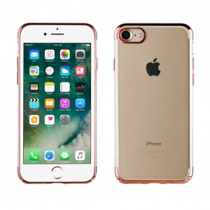 Muvit Case Crystal Edition for Apple iPhone 7 / 8 (Pink Gold)