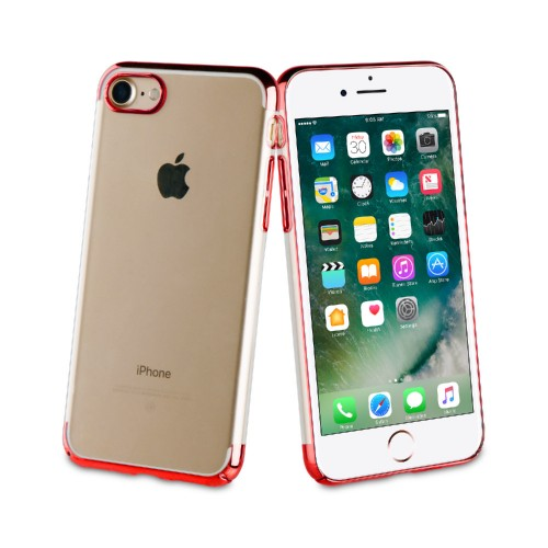 Muvit Case Crystal Edition for Apple iPhone 7 / 8 (Red)