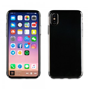 Muvit Case Crystal Edition for Apple iPhone X (Black)