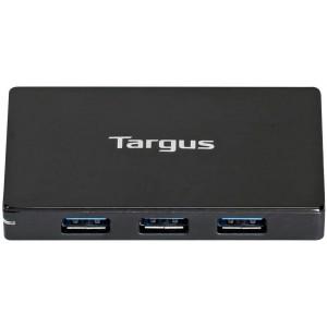 Targus USB 3.0 4-Port Hub with Detachable 60cm Cable (Black) (ACH144AP)
