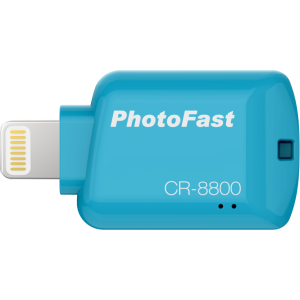 PHOTOFAST iOS Card Reader CR8800 (Blue)