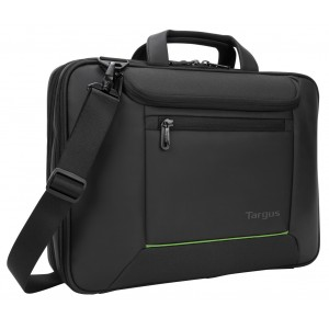 "Targus 14"" Balance™ EcoSmart® Topload with TSA & Sling (Black)"