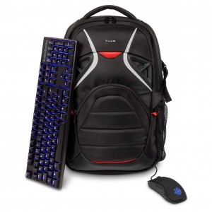 "Targus  17.3"" Strike Gaming Backpack (Black)"