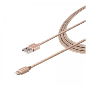 [EDUCATION] Targus ALU Series Lightning to USB Cable (1.2M) - Gold
