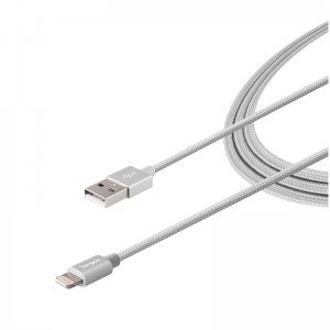 [EDUCATION] Targus ALU Series Lightning to USB Cable (1.2M) - Silver