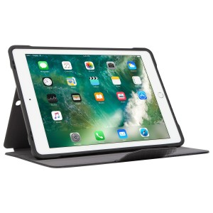 [EDUCATION] Targus Click-In Case w/ Pencil Holder for iPad (6th gen. / 5th gen.), iPad Pro (9.7-inch), iPad Air 2 & iPad Air - Black