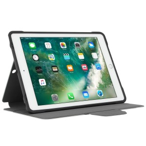 [EDUCATION] Targus Click-In Case w/ Pencil Holder for iPad (6th gen. / 5th gen.), iPad Pro (9.7-inch), iPad Air 2 & iPad Air - Silver