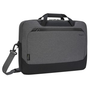 "[BAR] Targus 15.6"" Cypress Briefcase with EcoSmart® (Light Gray)"