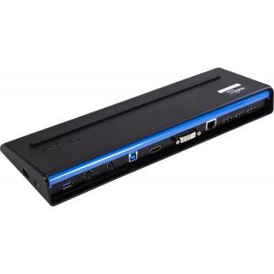 Targus Universal USB 3.0 DV Docking Station with Power - ACP71AP (Black)