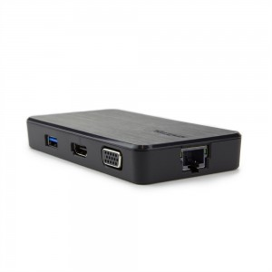 Targus VersaLink Universal Dual Video Travel Dock - DOCK110 (Black)