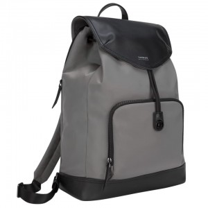 "[BAR] Targus 15"" Newport Drawstring Backpack (Grey)"