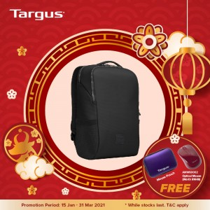 "Targus 15.6"" Urban Essential Backpack - Black"