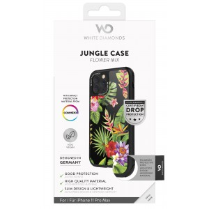 White Diamonds iPhone 11 Pro Max Case - Jungle Case (Flower Mix) (1420JUN22)