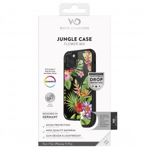 White Diamonds iPhone 11 Pro Case - Jungle Case (Flower Mix) (1400JUN22)