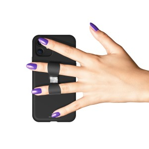 White Diamonds iPhone 11 Case - Bow (Black) (1410BOW6)