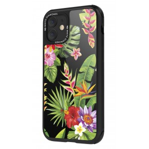 White Diamonds iPhone 11 Case - Jungle Case (Flower Mix) (1410JUN22)