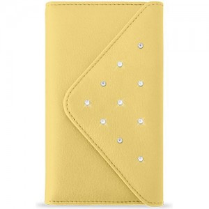 White Diamonds Grand Purse case for iPhone 6 Plus / 6s Plus (Yellow)