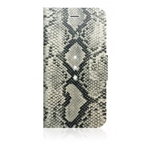 White Diamonds Crystal Wallet case for iPhone 6 / 6s (Safari Snake)