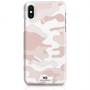 White Diamonds Camouflage Case for iPhone 7/8 (Rose Gold)