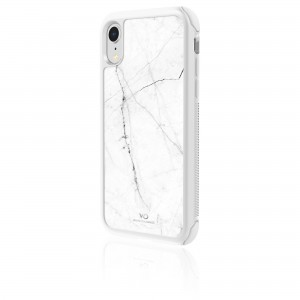 White Diamonds Touch Marble Case for iPhone XR (White)