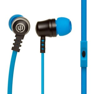 Wicked Audio's Drive 1000cc Wired Earbuds w/mic (Blue)