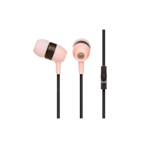 Wicked Audio Drive 600cc Wired Earbud w/mic (Pink)