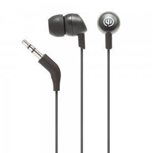 Wicked Audio Brawl Wired Earphone w/out mic - Black