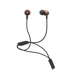 Wicked Audio Raider Bluetooth Earbud - Black / Wood